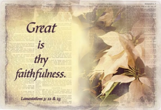 Top 10 Posts for 2012: 10 – Great Is Thy Faithfulness, or ...