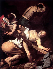 Crucifixion of St. Peter by Caravaggio