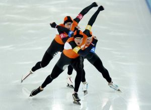 dutch speed skaters